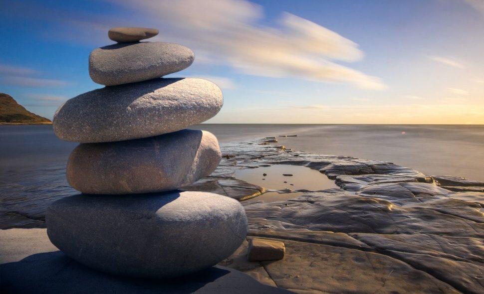 Kamienky balancu