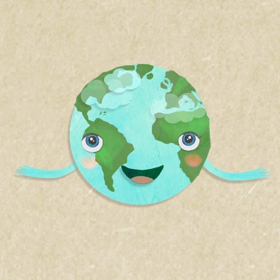 Planeta zem sa usmieva